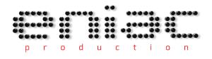 Logo ENIAC - Production